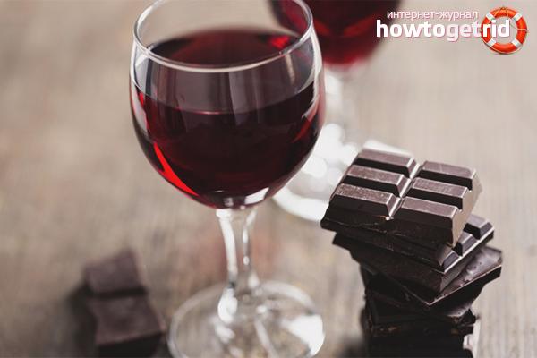 Amb què beure vi