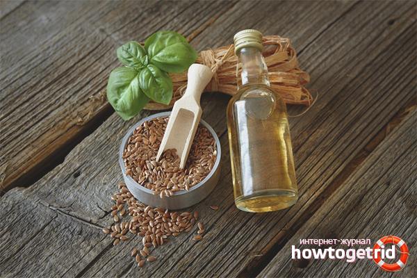 Sätt att använda linfröolja