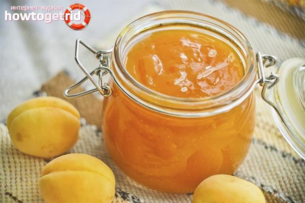 Recette rapide de confiture d'abricot