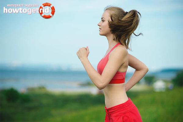 Wie man beim Laufen atmet