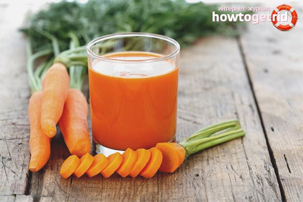 Cum se face suc de morcovi
