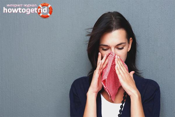 טיפול באלרגיה לאבק