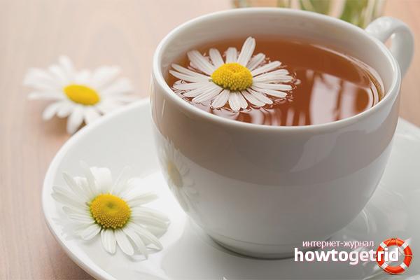 Els avantatges del te de camamilla