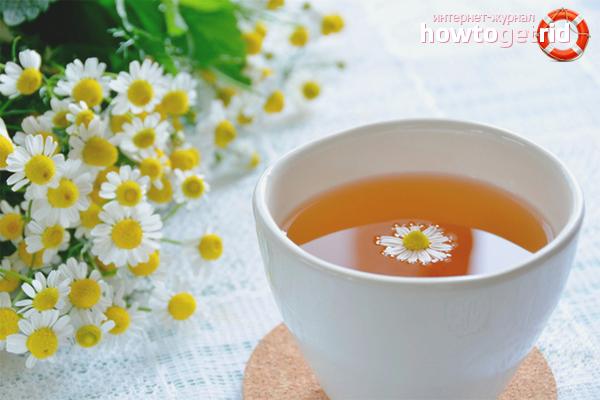 El mal del te de camamilla