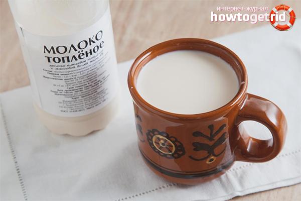 Cum se face laptele copt