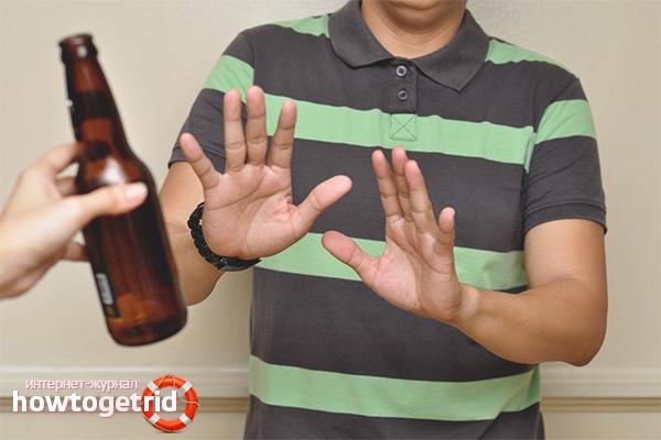 Com alleujar els desitjos d'alcohol