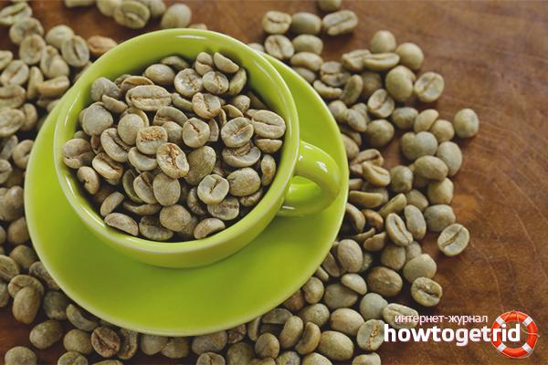 Les avantages et les inconvénients du café vert
