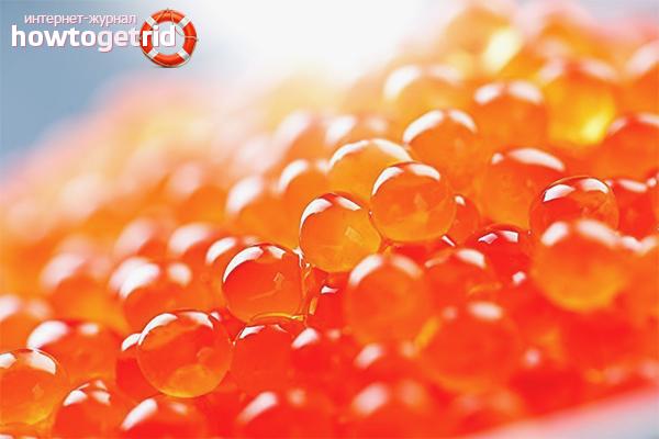 El mal del caviar vermell