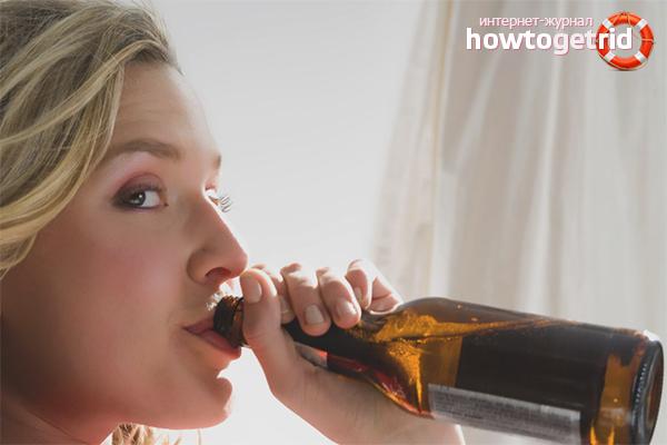 Bia ảnh hưởng đến cơ thể phụ nữ như thế nào