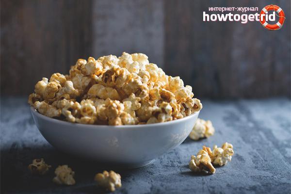 Wie man den Schaden durch das Essen von Popcorn reduziert