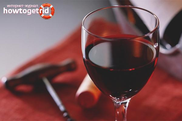 Tractament del vi negre