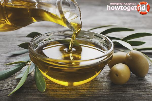 Màscara de pèl amb oli d'oliva