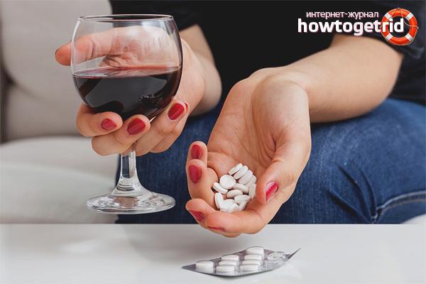 Мога ли да пия алкохол след антибиотици