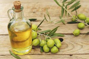Oli d'oliva per al cabell