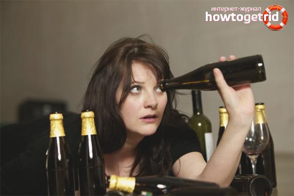 Nghiện bia ở phụ nữ
