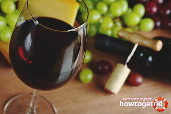 Els avantatges i els perjudicis del vi negre