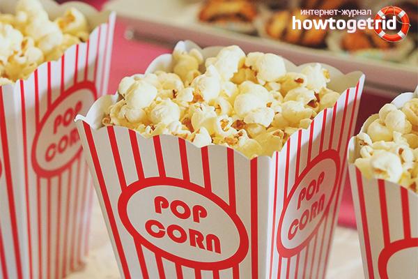 Die Vor- und Nachteile von Popcorn
