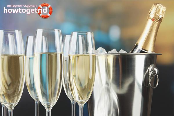 Die Vor- und Nachteile von Champagner