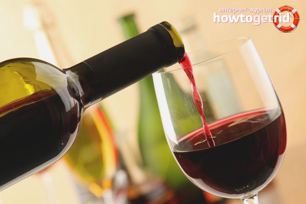 Els avantatges del vi negre per als homes