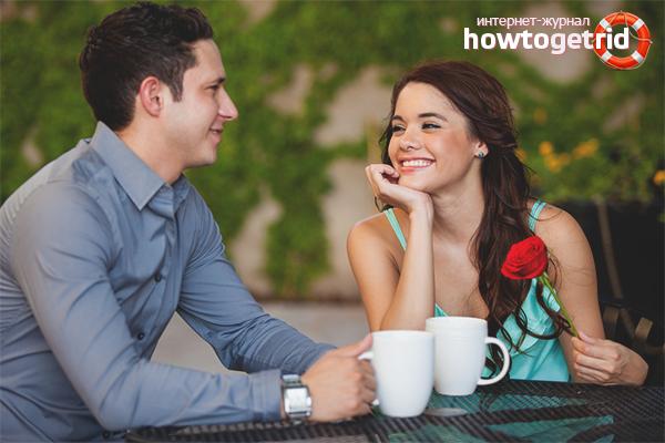 Richtiges Verhalten beim ersten Date
