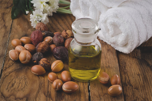 L'ús d'oli d'argan per al cabell