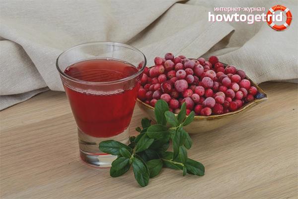 Lingonberry cu cistită