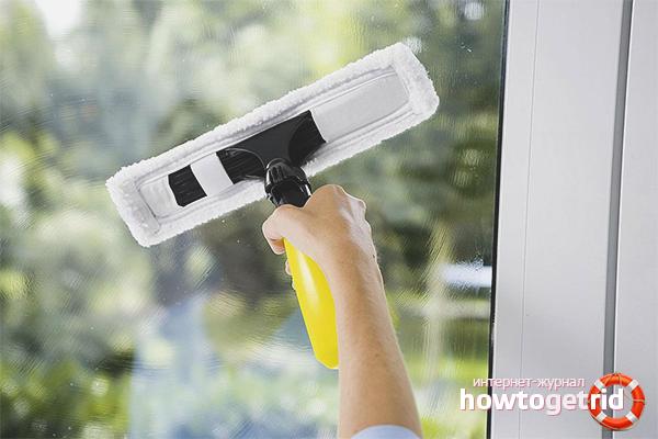 Kā tīrīt logus pēc remonta