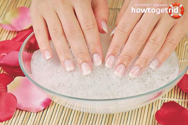 Hur man gör bad för naglar