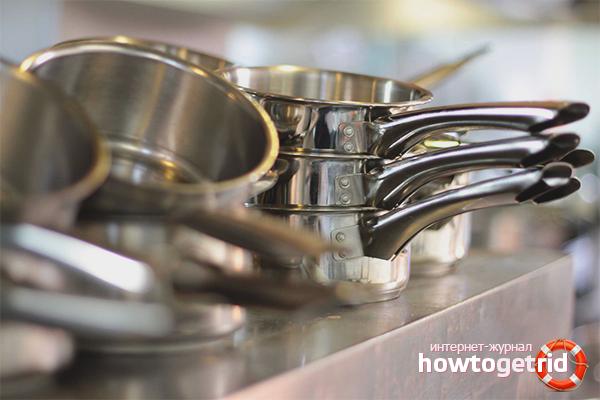 Cara membersihkan peralatan memasak aluminium