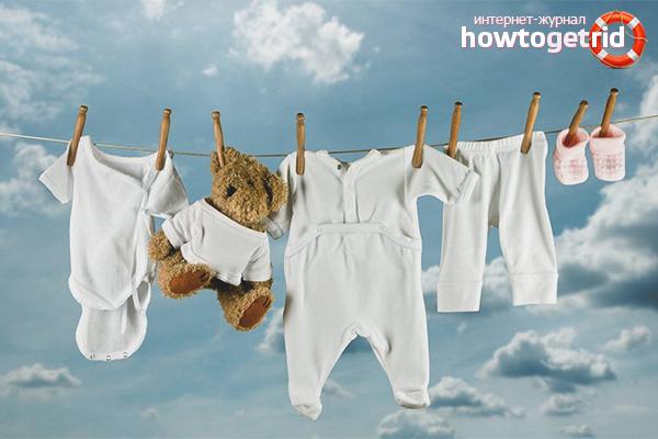 Cara memutihkan barang bayi