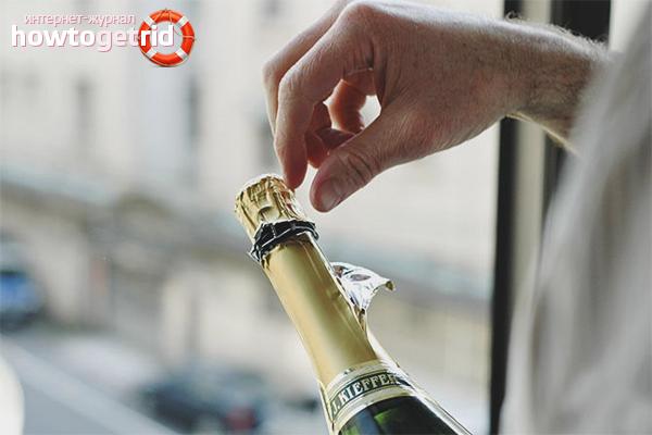 Kā atvērt šampanieti