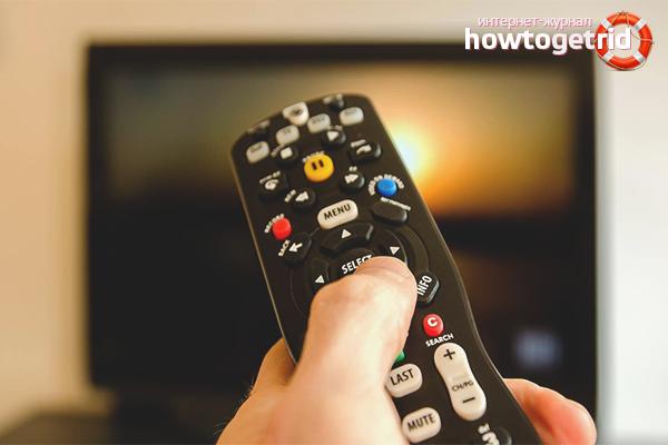 Cara membersihkan alat kawalan jauh dari TV