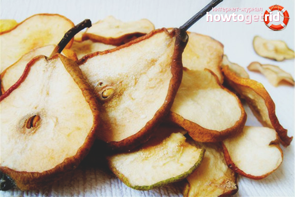 Com assecar una pera per conservar totes les vitamines