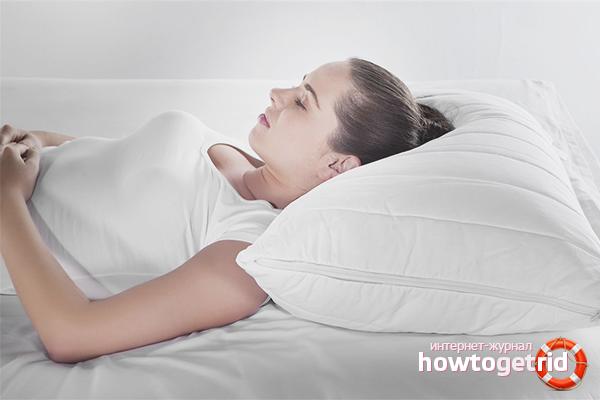 Cách chọn gối ngủ.