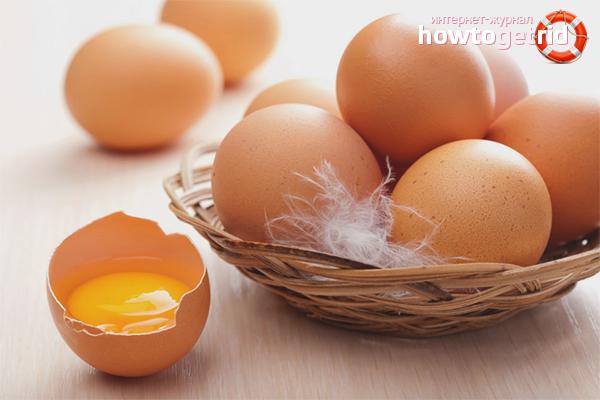 Die Vor- und Nachteile von Eiern