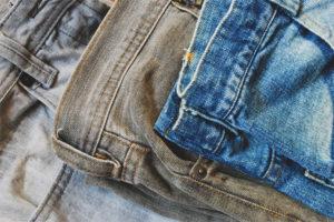 Co zrobić, jeśli dżinsy są pomalowane