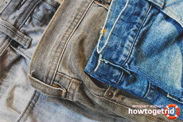 Was tun, wenn Jeans bemalt sind?