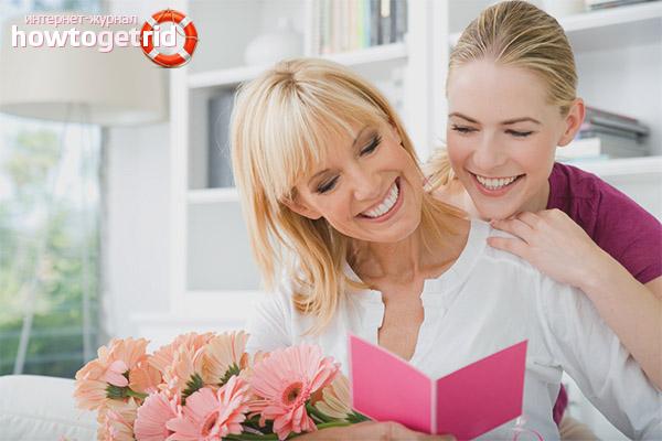 Ce să îi dai mamei de o zi de naștere