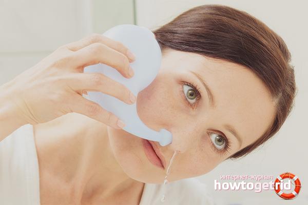 So entfernen Sie schnell verstopfte Nase