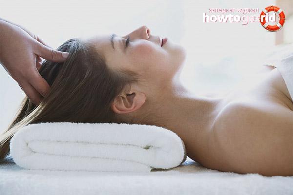 Wie man eine Kopfmassage macht, um das Haar zu stärken
