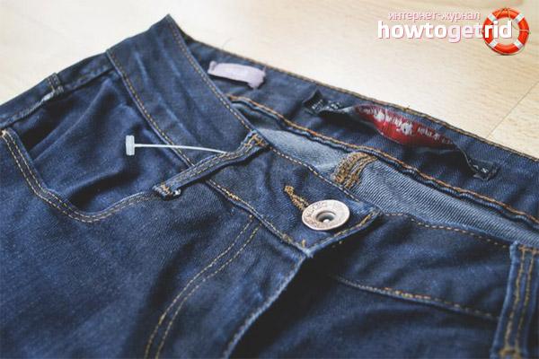 So überprüfen Sie Jeans vor dem Kauf von Häutung