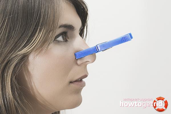So entfernen Sie verstopfte Nase