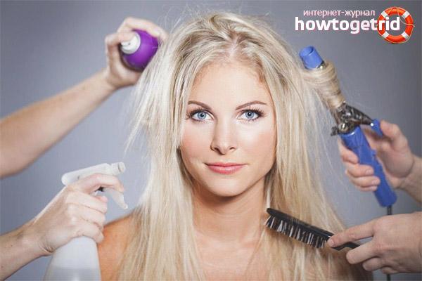 Wie man Haare pflegt, damit sie nicht fettig werden