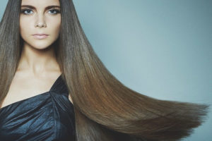 Keratin hårrätning