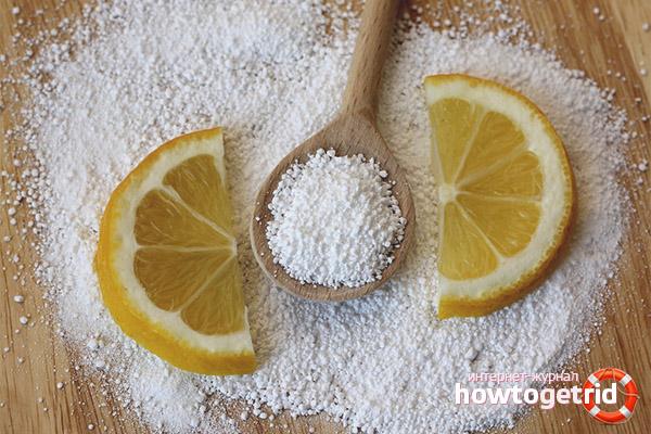 Kalk Zitronensäure
