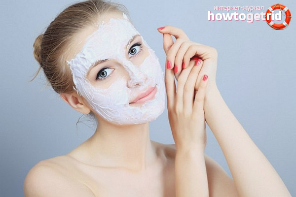 Maskas taukainas ādas atjaunošanai