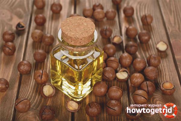 Tính chất hữu ích và ứng dụng của dầu macadamia