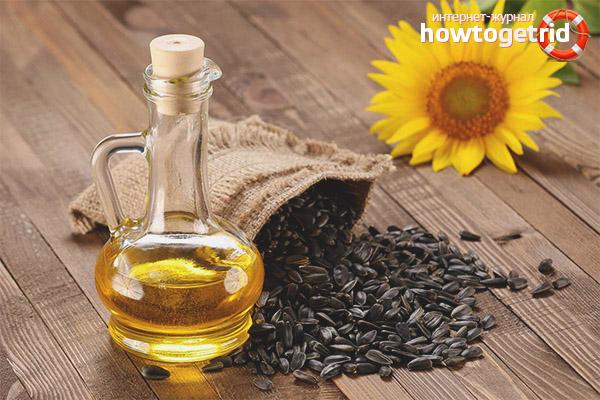 Nützliche Eigenschaften und Kontraindikationen von Sonnenblumenöl