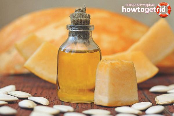 Nützliche Eigenschaften und Kontraindikationen für Kürbisöl