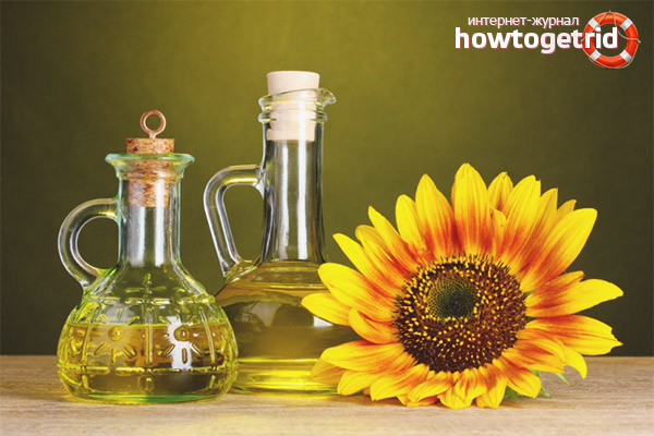 Die Vorteile von Sonnenblumenöl
